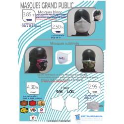 Masque réutilisable couche...